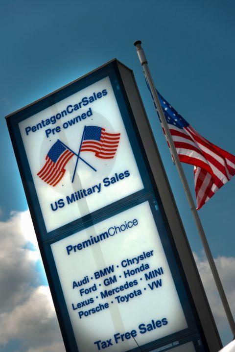military overseas car buying